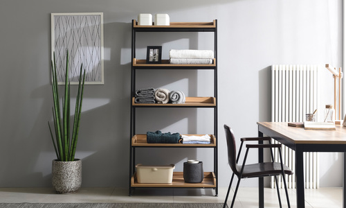 5 tier 80cm   hayden bookshelf   web1