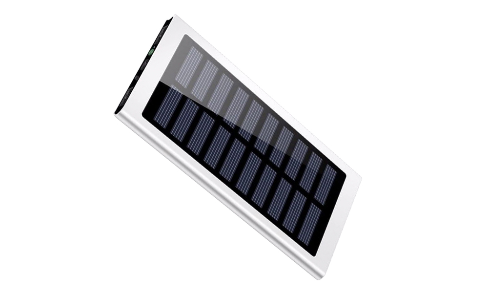 Silver   solar power bank   web2