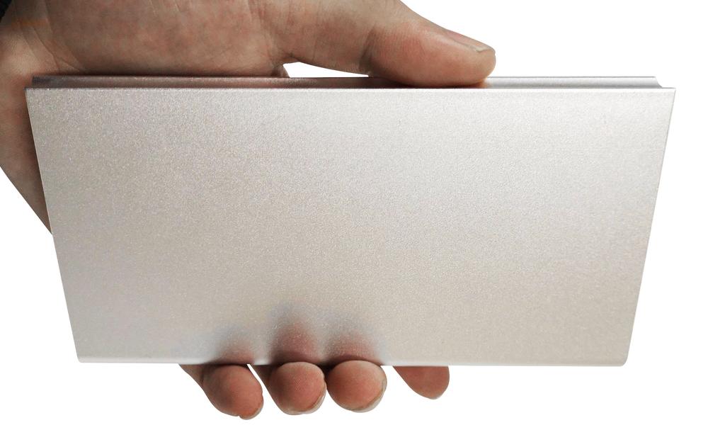 Silver   solar power bank   web5