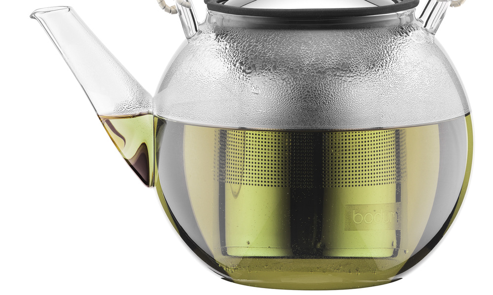 Bodum asam tea press with bamboo handle   web3
