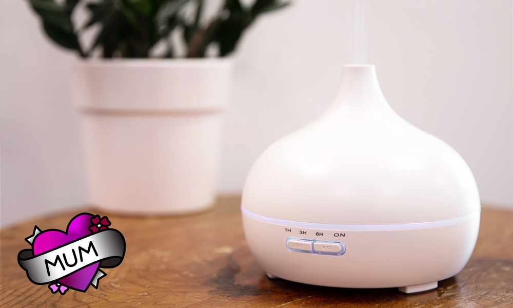 Aroma diffuser   white   mum