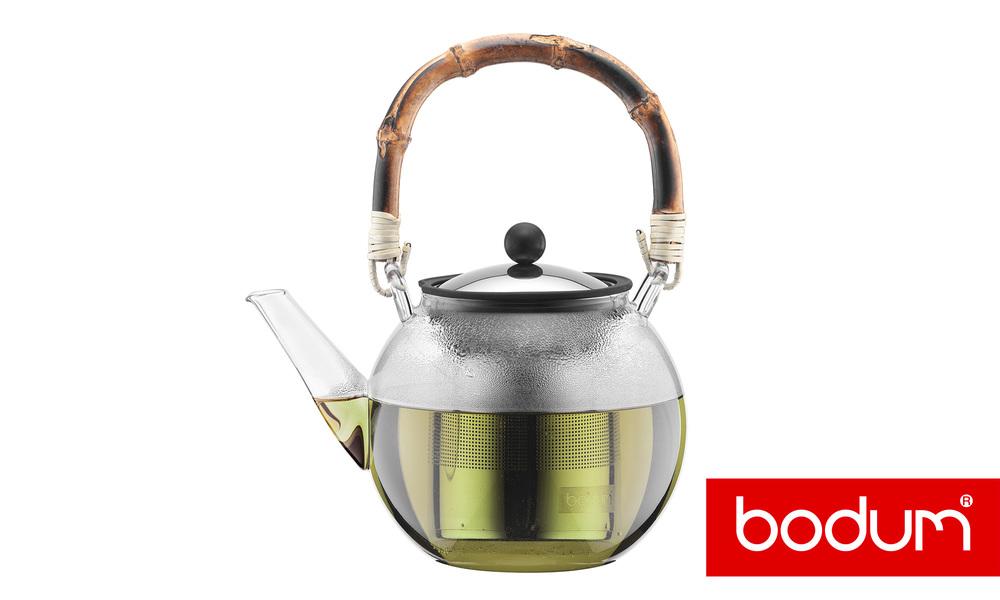 Bodum asam tea press with bamboo handle   web1