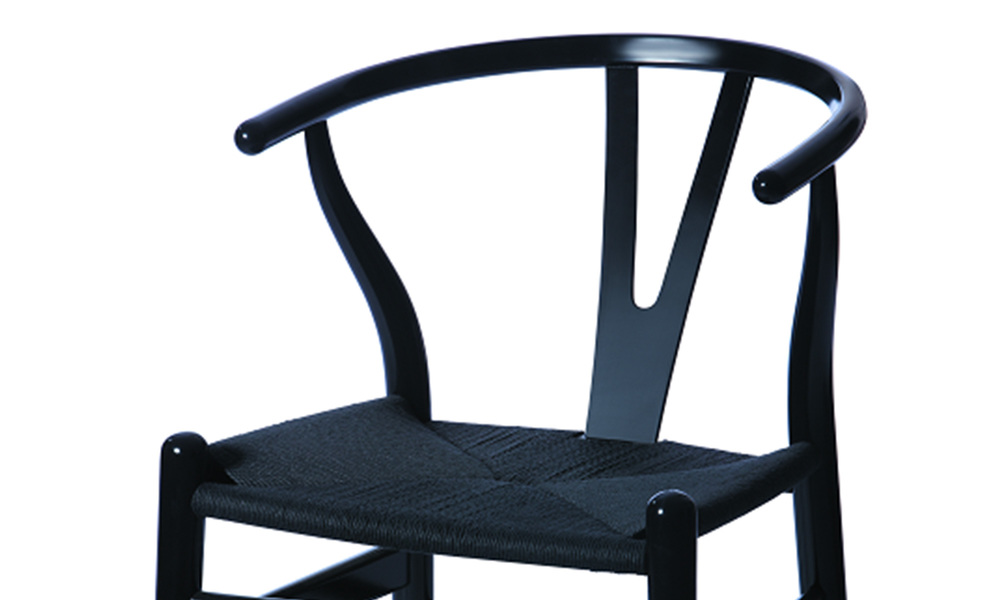 Black   replica hans wegner wishbone chairs   web2