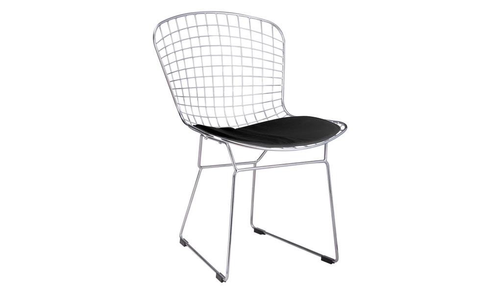 Replica bertoia chrome wire chairs   web1