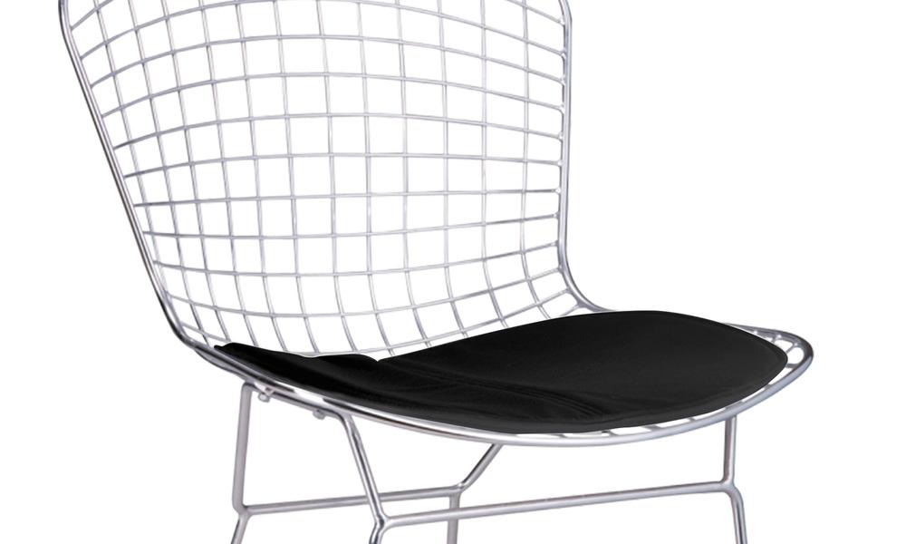Replica bertoia chrome wire chairs   web2