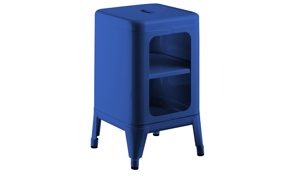 Blue   replica frederic gaunet tolix cabinet 2 tier   web1