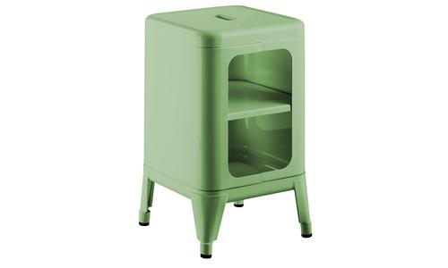 Light green   replica frederic gaunet tolix cabinet 2 tier   web1