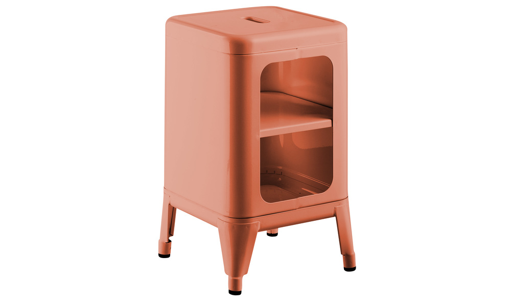 Orange   replica frederic gaunet tolix cabinet 2 tier   web1