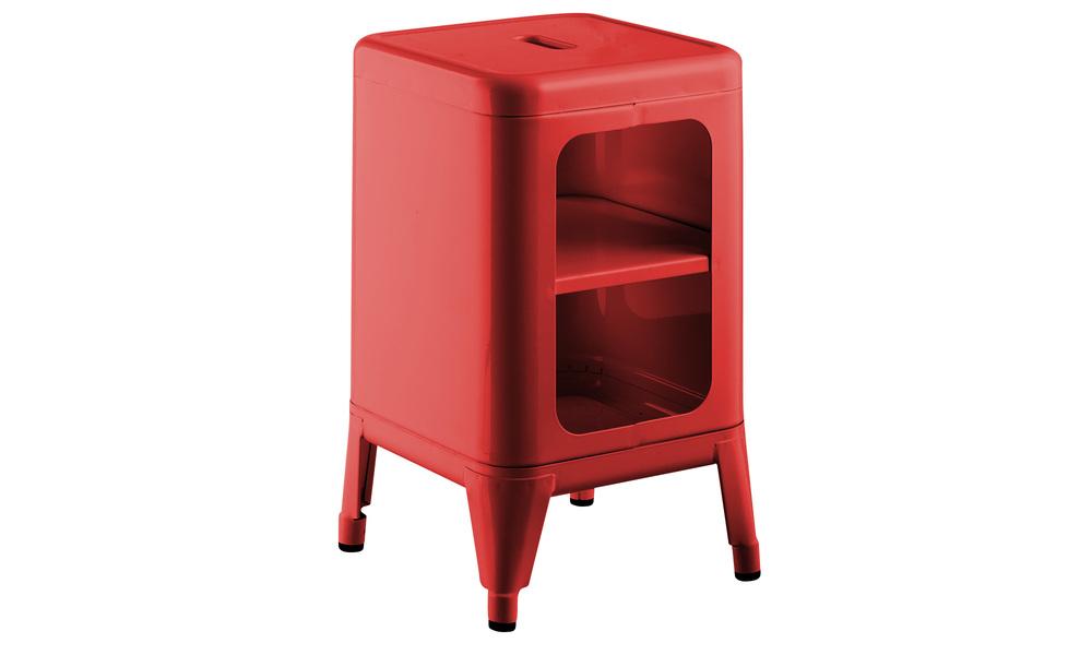 Red   replica frederic gaunet tolix cabinet 2 tier   web1
