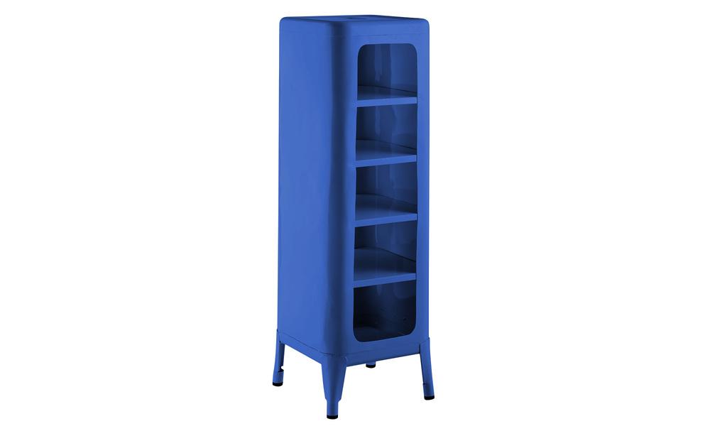 Blue   replica frederic gaunet tolix cabinet 5 tier   web1