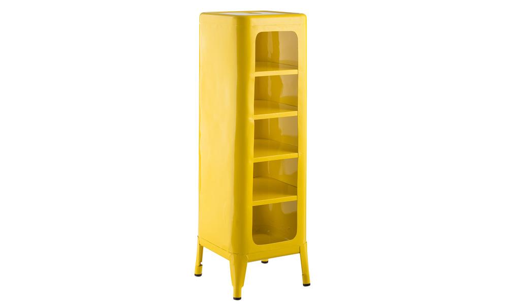 Yellow   replica frederic gaunet tolix cabinet 5 tier   web1