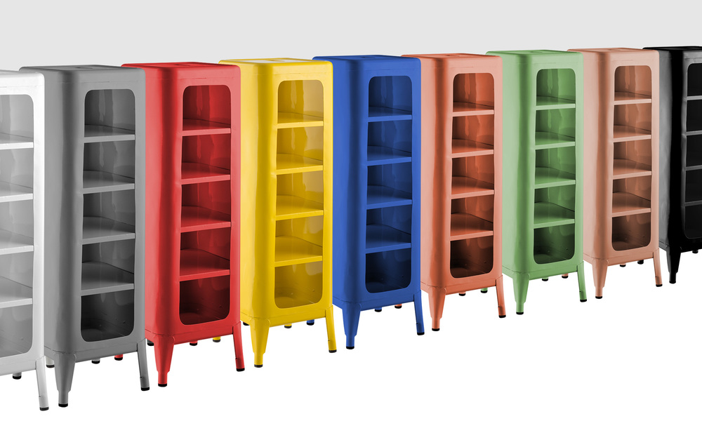Replica frederic gaunet tolix cabinet 5 tier   web1