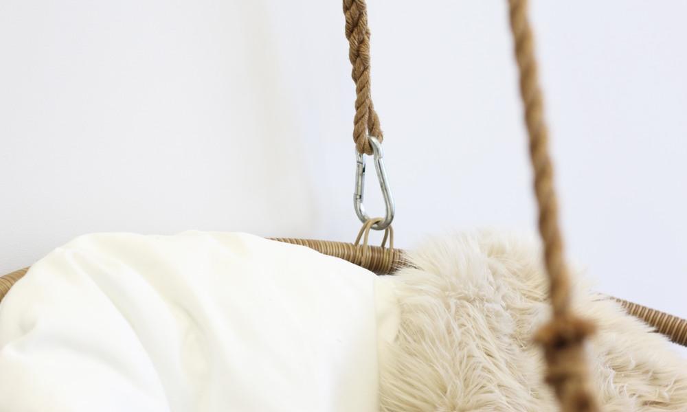Hangers view   tan chair