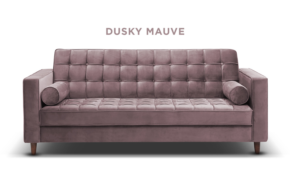 Dusky mauve   knightly velvet couch   web1