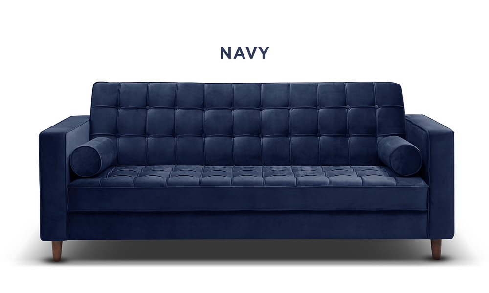 Navy   knightly velvet couch   web1