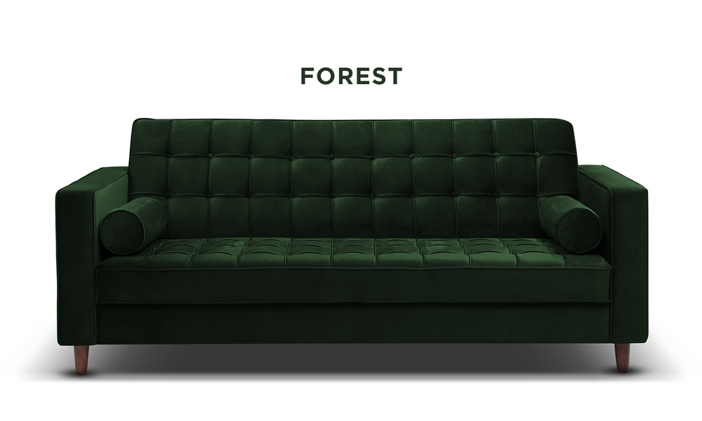 Forest   knightly velvet couch   web1