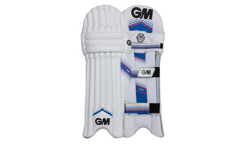 1183   gm cricket pads   mana custom edition pads mens set   web1
