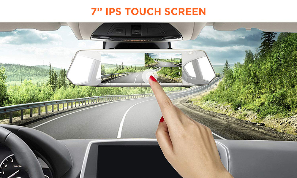 7 inch touch screen dash cam   web4