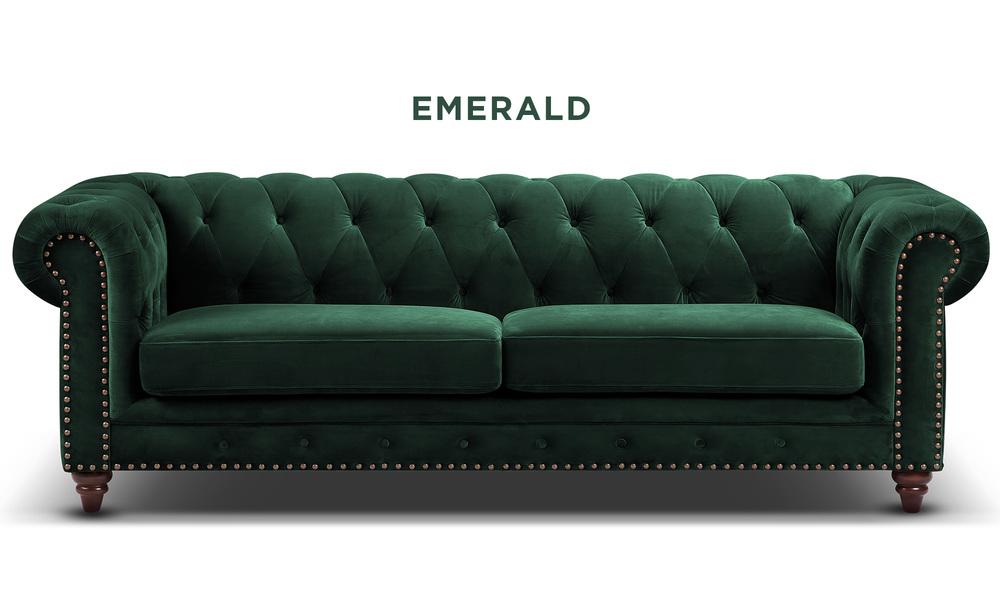Emerald   kensington velvet button 3 seater sofa   web1