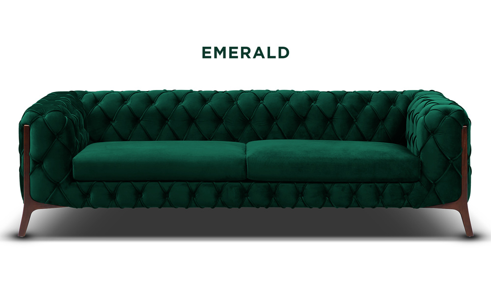 Emerald   diablo velvet button 3 seater sofa   web1