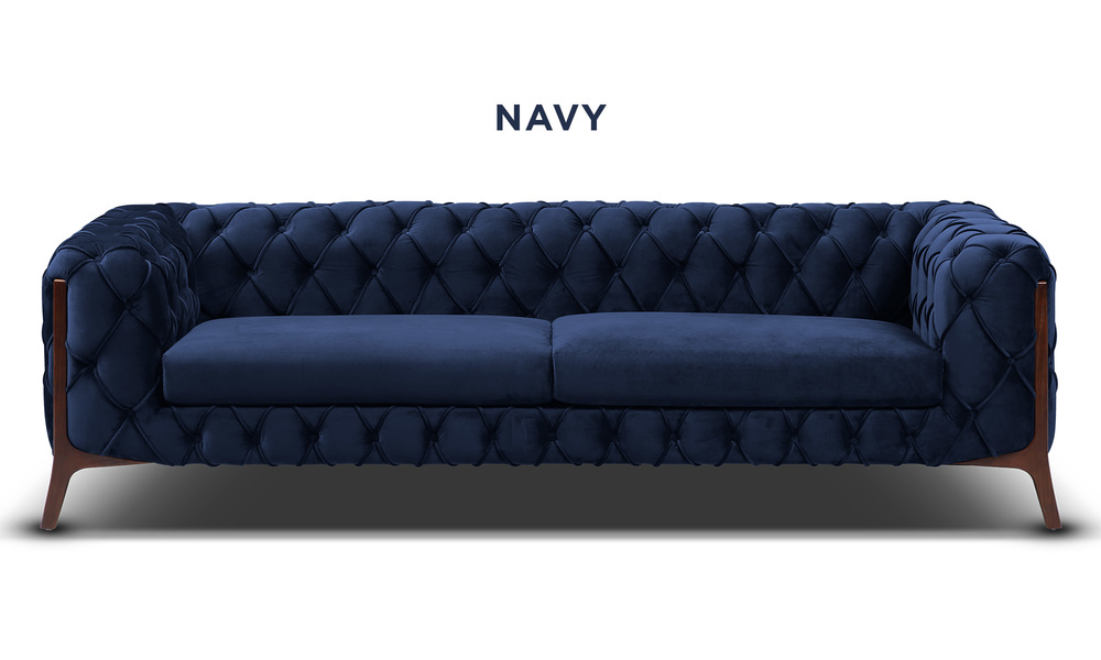 Navy   diablo velvet button 3 seater sofa   web1