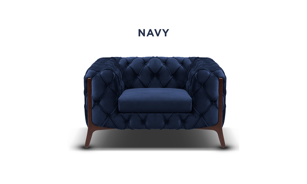 Navy   diablo velvet button armchair   web1
