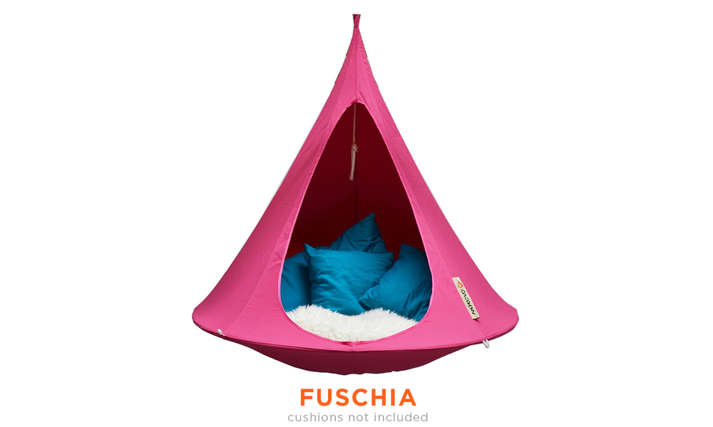 Fuschia   cacoon single hanging chair   web1