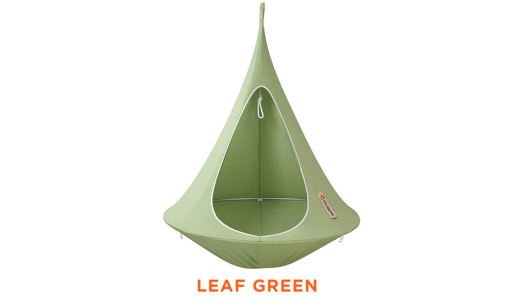 Leaf green   cacoon single hanging chair   web1
