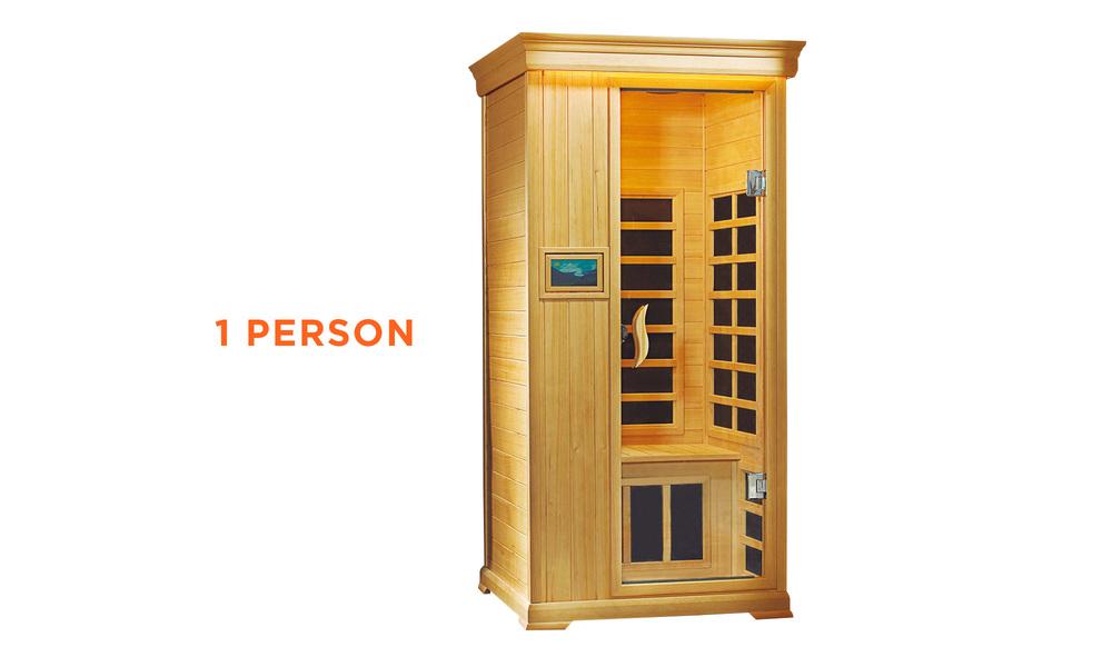 1 person   infrared sauna   web1
