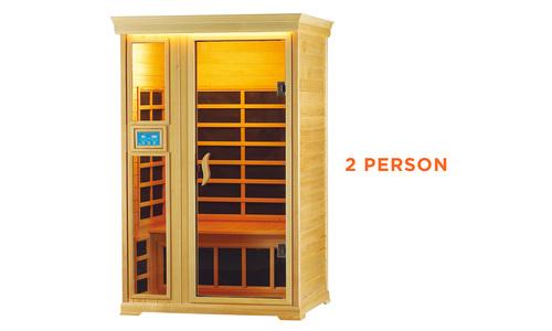 2 person   infrared sauna   web1