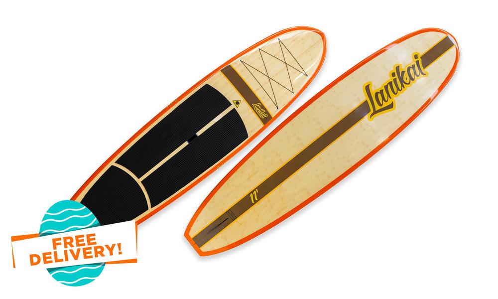 Sup   lanikai 1972 bamboo 11'   easter