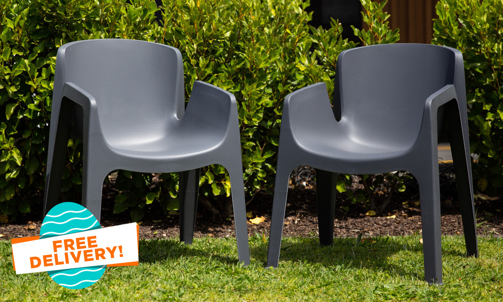 Amalfi chairs black   easter