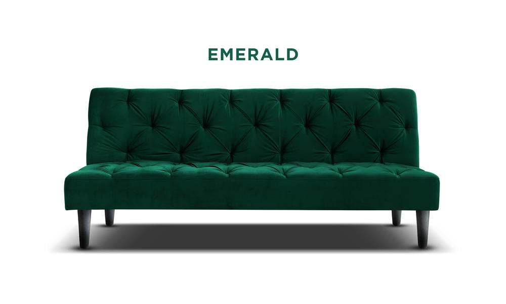 Emerald   campbell velvet sofa bed   web1