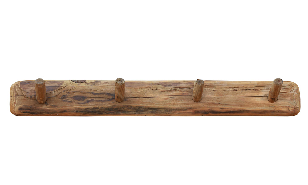 Recycled pine wooden coat rack   web2