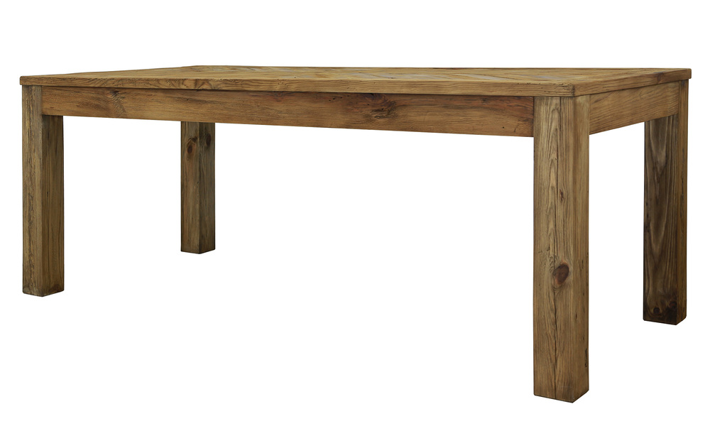 Grenier 200cm dining table  recycled pine   web1