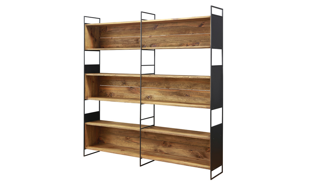 Grenier bookshelf  recycled pine   web1