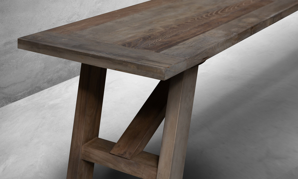 Recycled elm bench seat web 5