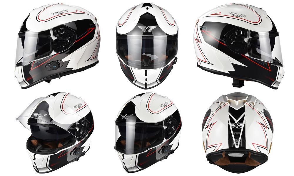 White red   motorcycle full face helmet   web1