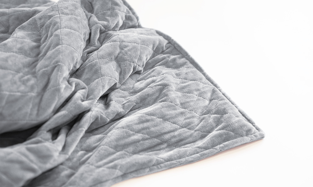 Dove grey   weighted blanket   web3
