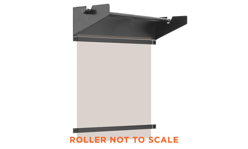 Wall mounter paper roller   web3
