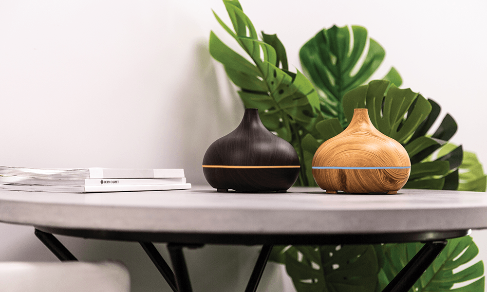 Aroma diffuser both colours