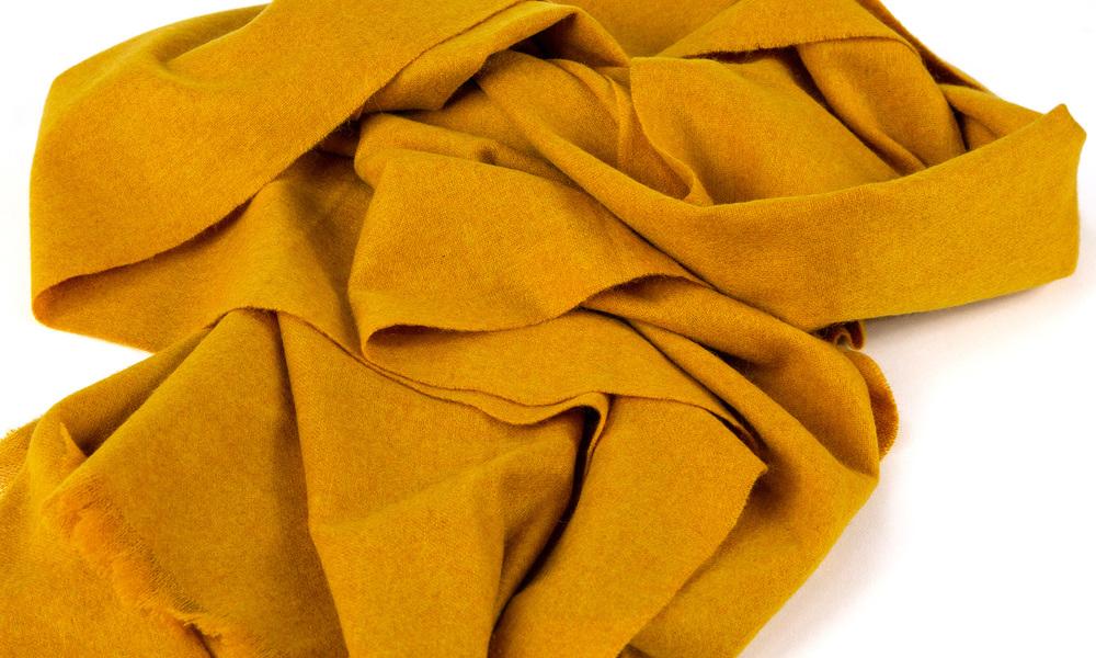 Mustard   cashmere scarf   web2
