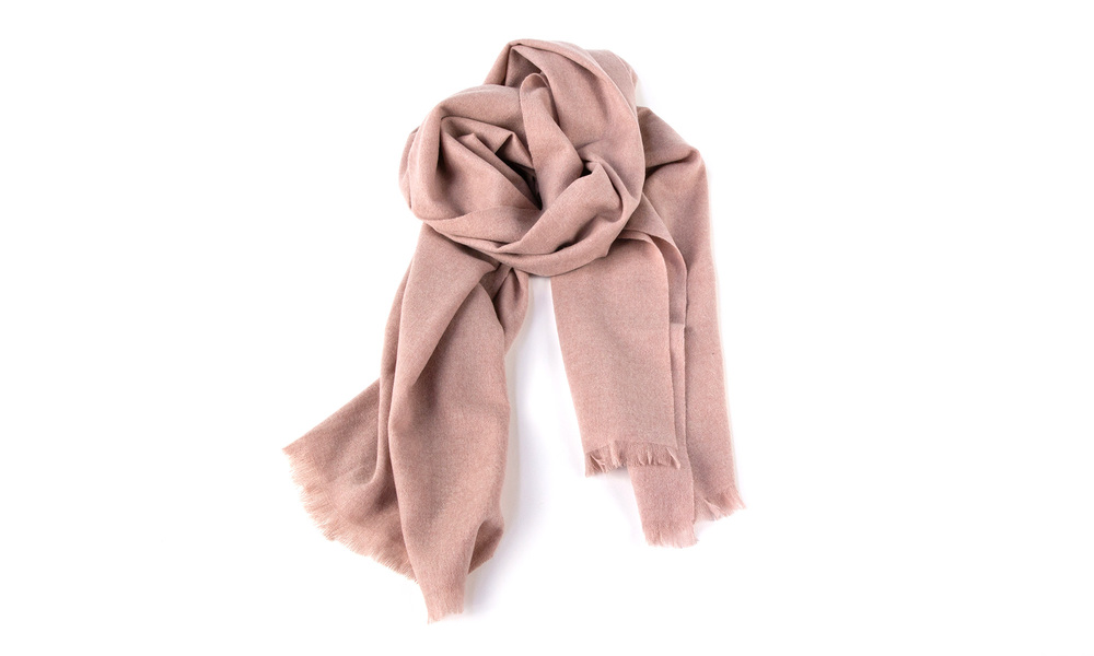 Pink   cashmere scarf   web4