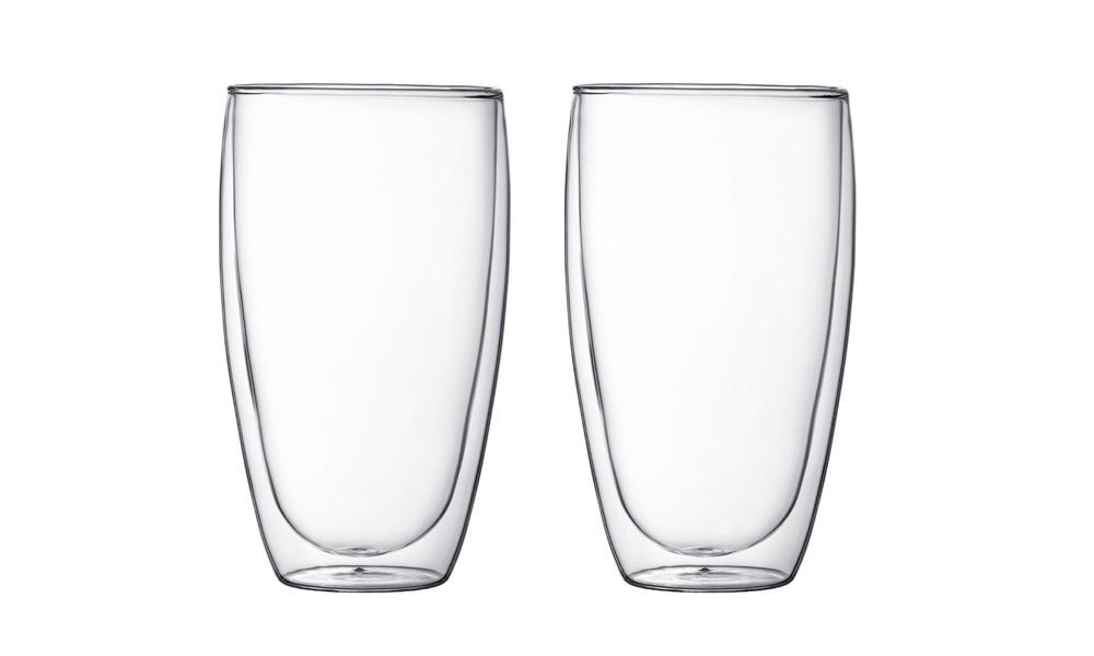 Bodum 2pc double wall glass 450ml   1350  web1
