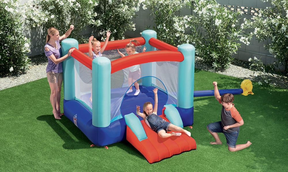 Bestway spring n slide bouncy castle   1383  web2