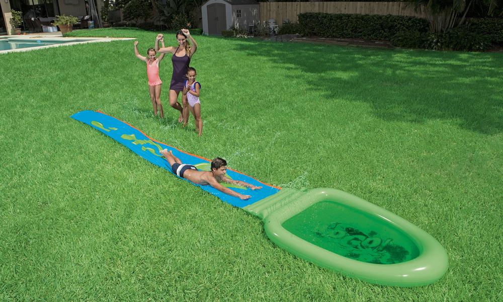 Bestway h2ogo slime   splash water slide   1382  web3