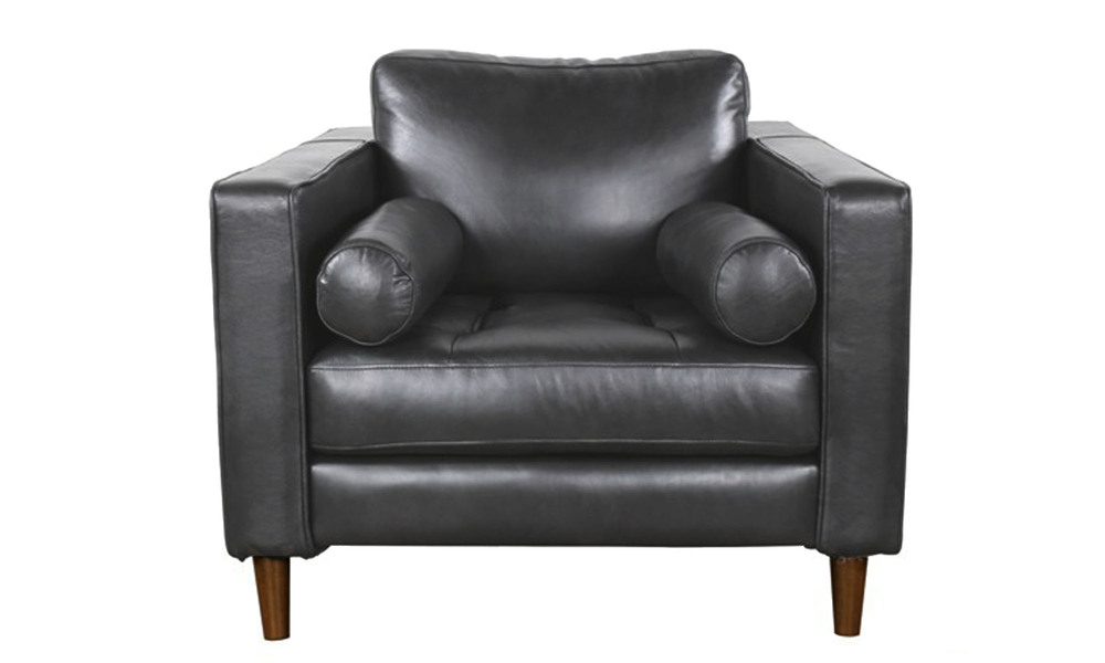Anthracite   spencer leather armchair   1364   web1