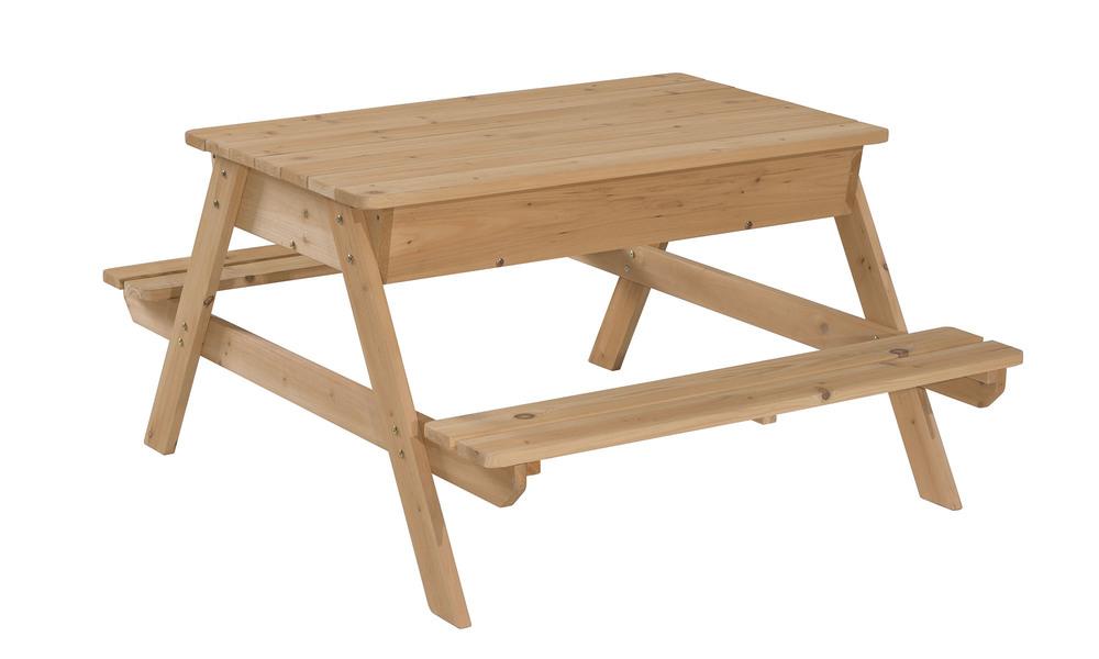 Childrens picnic table with sandbox   1396  web2