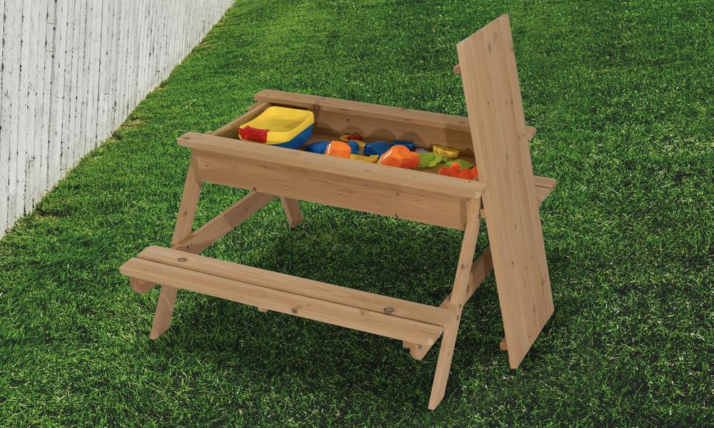 Childrens picnic table with sandbox   1396  web3