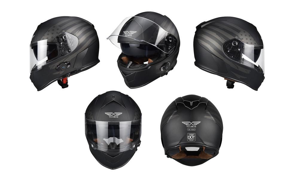 1275   integrated bluetooth motorcycle full face helmet   usa flag  web6